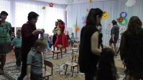 Matinée dedicado al día internacional del ` s de las mujeres, una guardería almacen de video