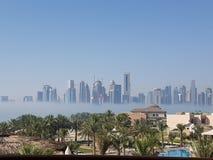matin à Doha Images stock