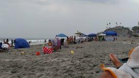 Matin à la plage Photo libre de droits