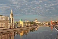 Matin à Moscou. Image stock