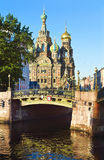 Matin à St Petersburg, Russie photos libres de droits