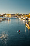 Matin à Stockholm Images stock