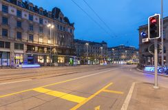Matin à Zurich, Suisse Images stock