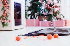 Matin après Noël Images libres de droits