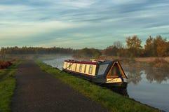 Matin au canal Photo stock