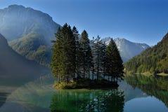 Matin au lac Image libre de droits