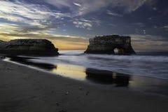 Matin aux ponts naturels Photographie stock libre de droits
