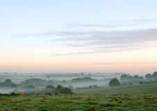 matin brumeux Image libre de droits
