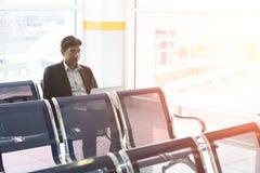Matin d'aéroport Photos stock