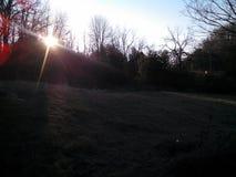 Matin d'hiver d'Appalachia ce qui une vue Photo libre de droits