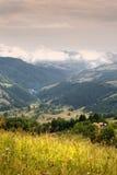 Matin dans Carpathiens Photos libres de droits