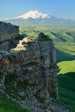 Matin dans Caucase images stock