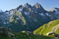 Matin dans Caucase image libre de droits