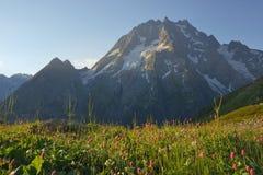 Matin dans Caucase photographie stock libre de droits