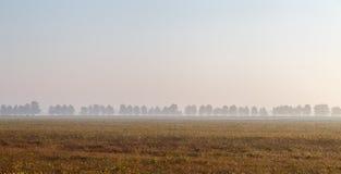 Matin dans la province italienne d'Emilia Romagna Photo libre de droits