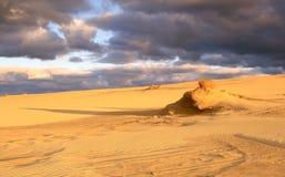Matin dans les dunes Photographie stock