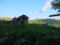 Matin dans les montagnes Photo stock