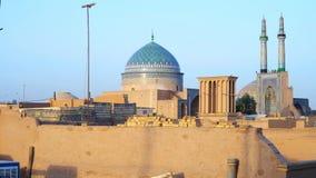 Matin dans Yazd, Iran banque de vidéos