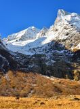 Matin de Caucase Photo stock