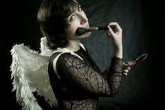 Matin de l'ange Photographie stock