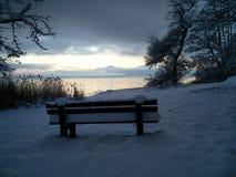 Matin de l'hiver photo libre de droits