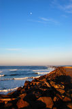 Matin de l'océan pacifique Image stock