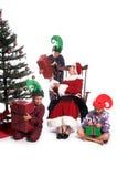 Matin de Noël Photographie stock libre de droits