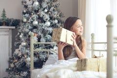 Matin de Noël Image libre de droits