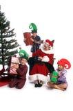 Matin de Noël de Mme Santa Images stock