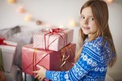 Matin de Noël Images libres de droits