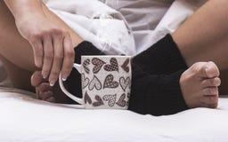 Matin doux de café Photo libre de droits
