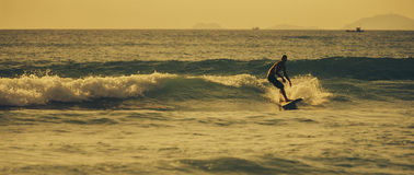 Matin du ` s de surfer Photographie stock