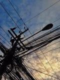 matin du soleil de bleu de ciel Photo libre de droits