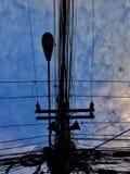 matin du soleil de bleu de ciel Photographie stock libre de droits