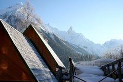 Matin en montagnes de Caucase Photographie stock