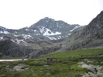 Matin en montagnes images stock