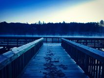 Matin froid Photographie stock libre de droits