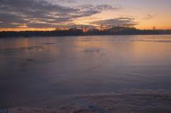 Matin hivernal Images stock