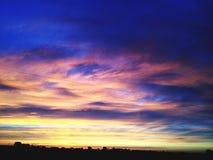 Matin nuageux Photographie stock libre de droits