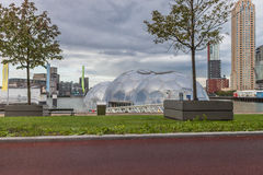 Matin Rotterdam, Pays-Bas Photo libre de droits
