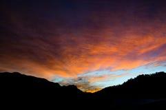 Matin spécial de montagne Image libre de droits