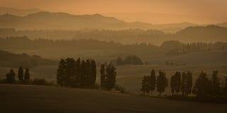 matin Toscane Image stock