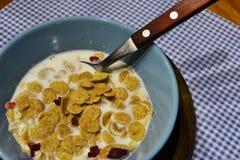 Matin un petit déjeuner sain Photos stock