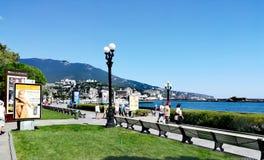 Matin Yalta photos libres de droits