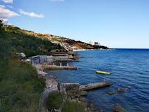 Matin Yalta photo libre de droits