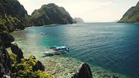 Matinloc świątyni błękitne wody el piękny brzegowy nido Philippines