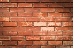 Matière de base de texture de mur de briques du bâtiment d'industrie Photos stock