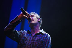 Matisyahu singing in Moscow Royalty Free Stock Photo