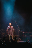 Matisyahu singing in Moscow Stock Image