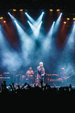 Matisyahu singing in Moscow Royalty Free Stock Photos